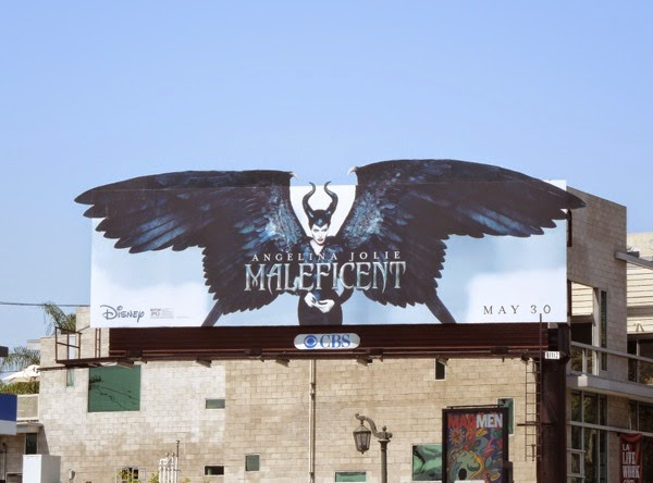 Maleficent winged special extension billboard