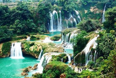 Gambar Pemandangan Alam Air Terjun Tercantik Di Dunia 2300