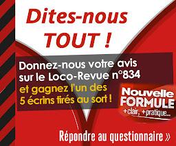 Donnez-nous votre avis sur Loco-Revue n°834