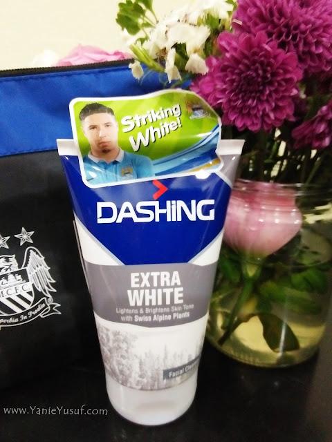 Dashing MCFC New Facial Cleanser, pencuci muka lelaki aktif