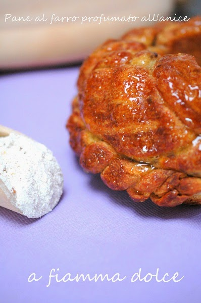 pane al farro profumato all'anice