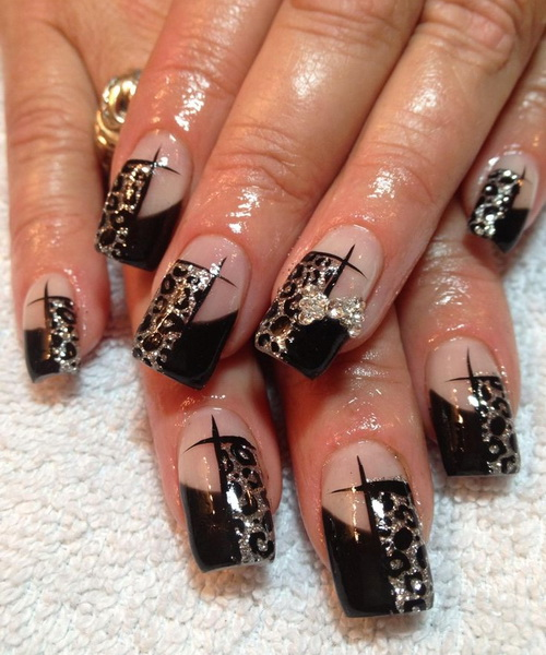 2015 beautiful nails and color after deciding which tip to be applied apply adhesive which is mentioned earlier to the nail tip and place the acrylic nails on top of your nails solutioingenieria Image collections