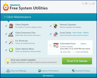Freemium System Utilities , system utility, system optimization softwares, system cleaner,system maintenance utilities , freewares , windows softwares, registory edit, system cleaner,