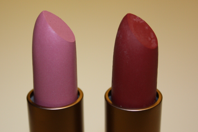 beauty kiss a matte lippenstifte zao matt vs chanel rouge allure velvet. Black Bedroom Furniture Sets. Home Design Ideas