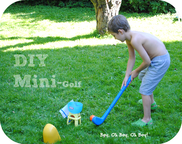 DIY Mini Golf