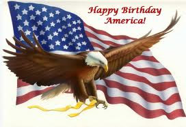 Happy Birthday to the USA.