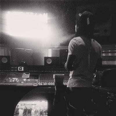 fotos de lil wayne birdman mac miller lil twist euro en el estudio grabando el disco tha carter v