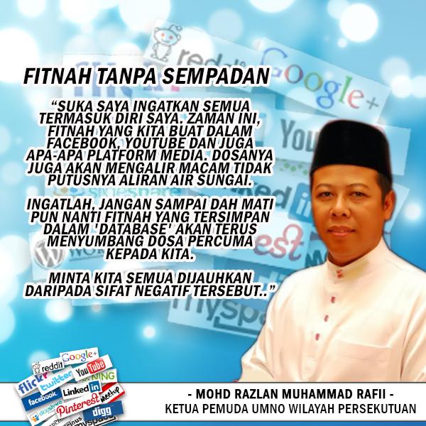 Fitnah Tanpa Sempadan - Mohd Razlan