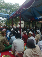menghadiri haul abuya ardani.