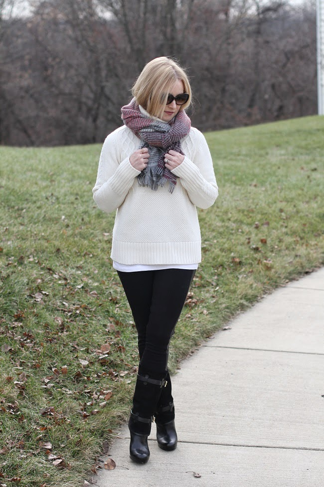 winter-outfit, winter-fashion, leather-trim-pants-jcrew, turtleneck-sweater-gap