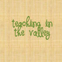 Teaching in the Valley