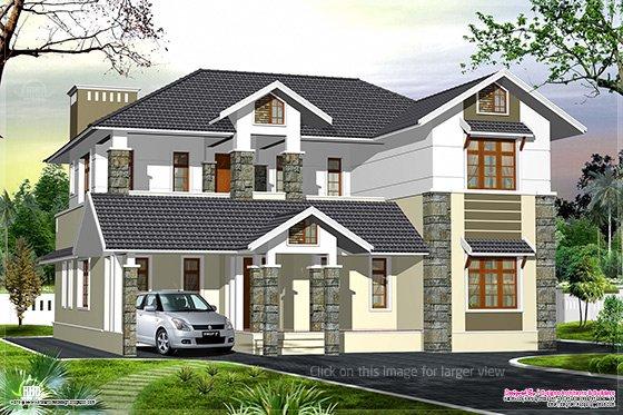 Luxury Kerala style villa