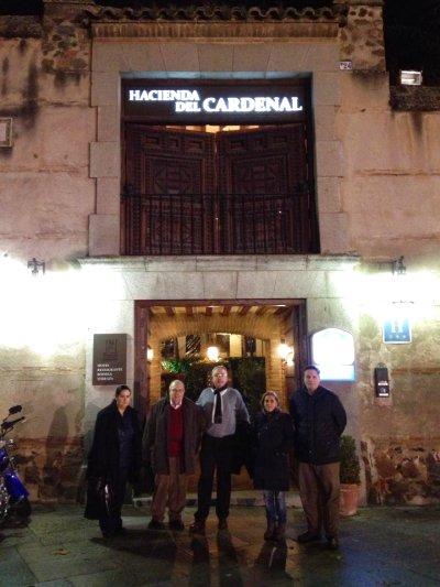 Entrada Restaurante Hacienda del Cardenal