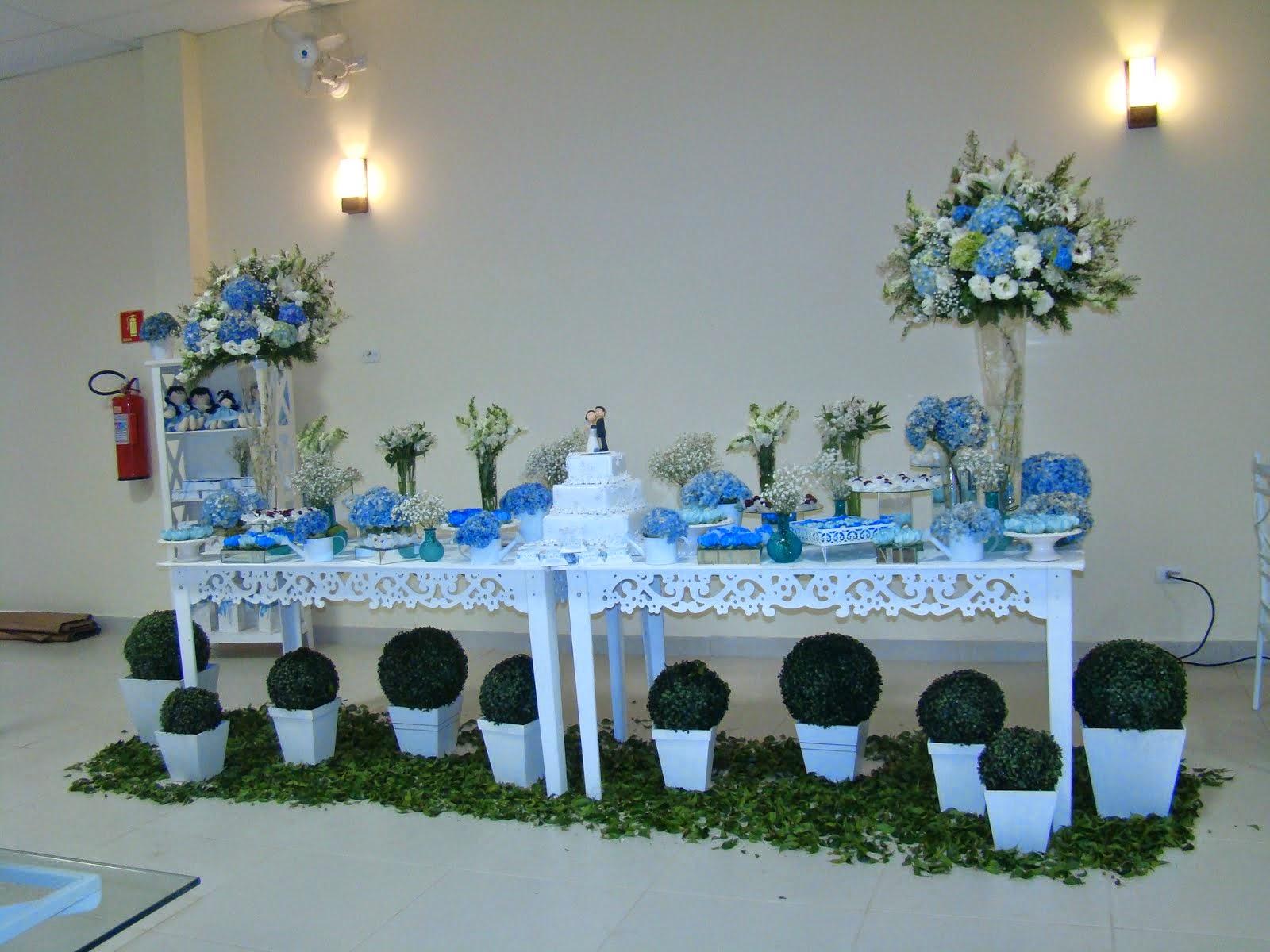 Festa Provençal- azul+branco