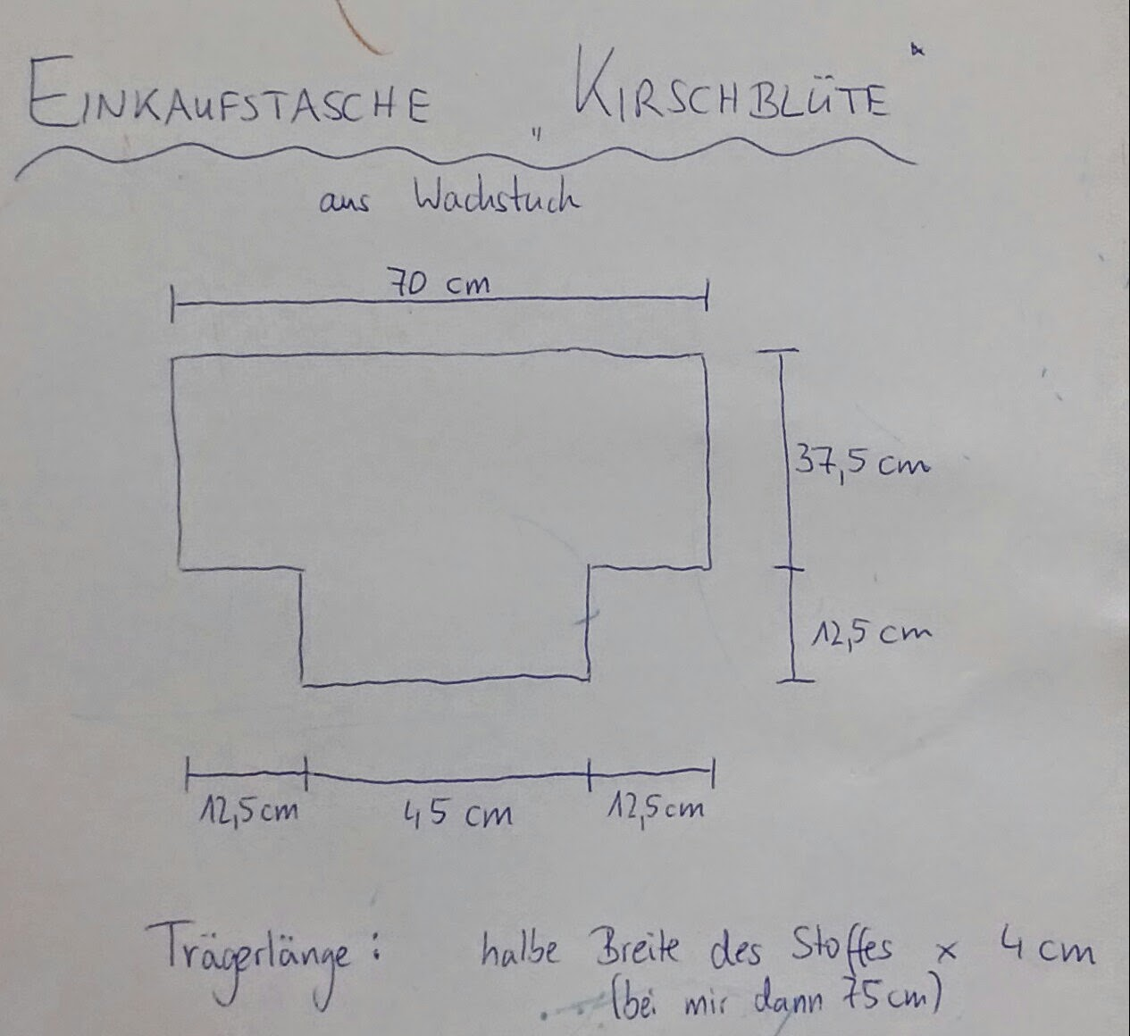 Wunderbar Einkaufstasche Schnittmuster Zeitgenössisch - Nähmuster ...