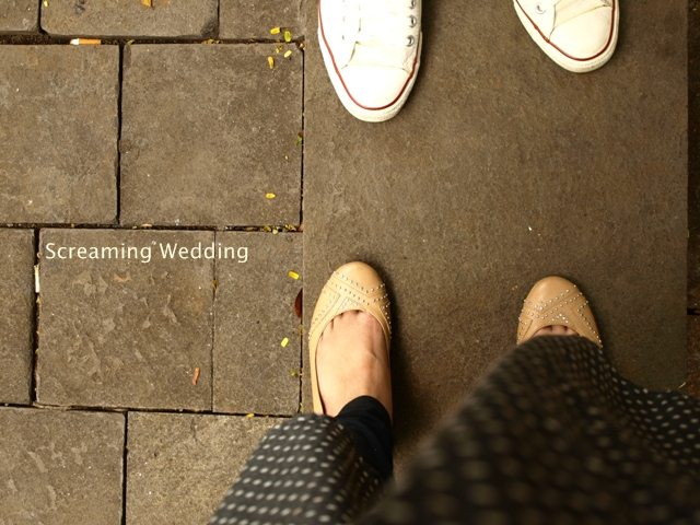 screaming wedding