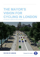 Mayor of London cycling vision document on lambethcyclists.org.uk