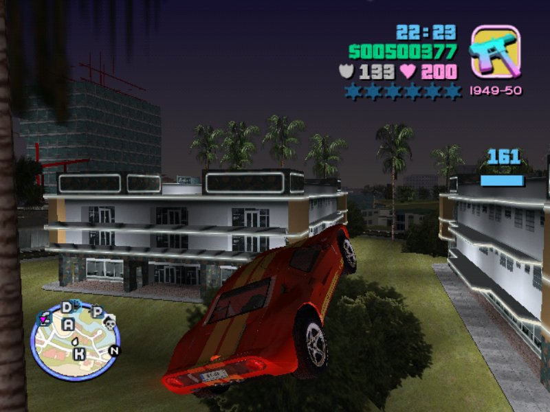 GTA Vice City Xtreme Speed Game ScreenShot