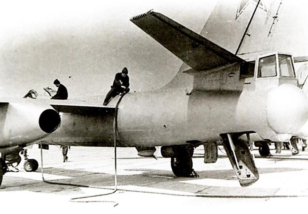 Подготовка к полетам Ил-28У