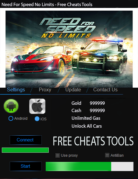 Best Android Games Need For Speed No Limits Hack Tool