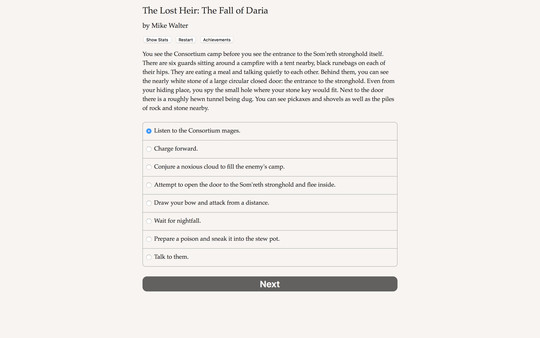 The Lost Heir The Fall of Daria PC Game Free Download
