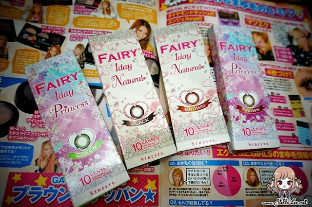 i.fairy contact lens