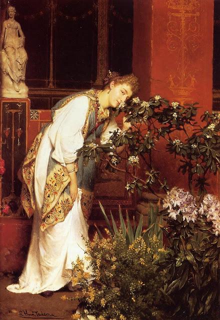 cute girl,Lawrence Alma Tadema,art history
