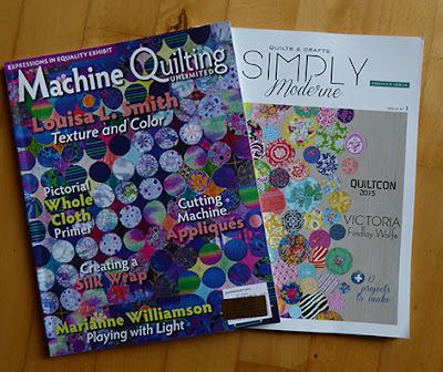 Inspiration til maskin quilting og moderne patchwork