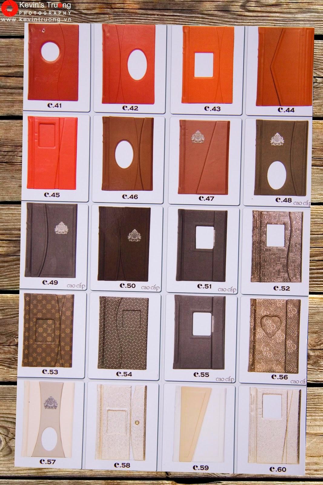 Gia Công-In Album Cát Kim Tuyến-Album 3D,Photobook,Ép gỗ các loại - 15