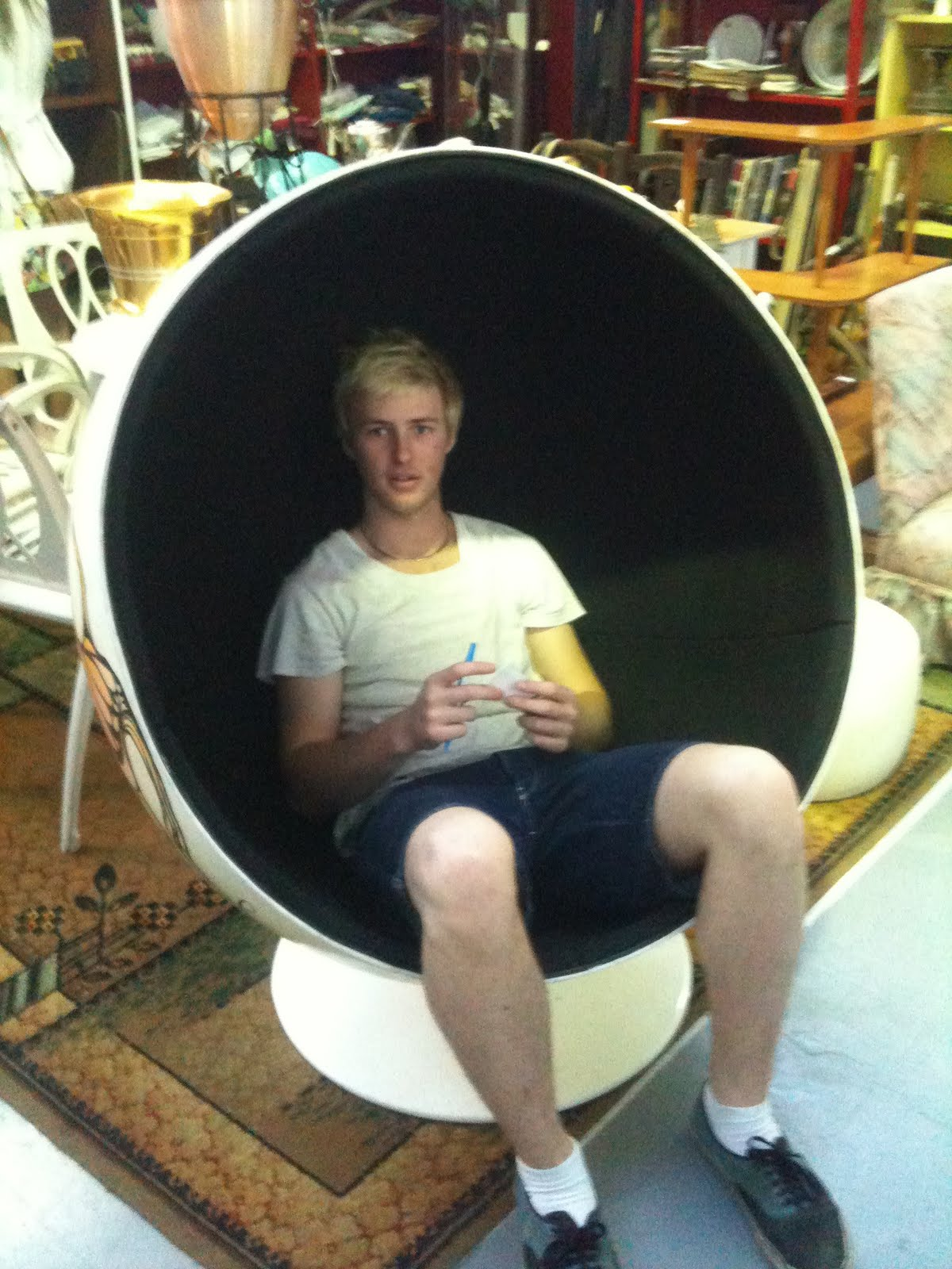 Remember The Fantastic Pod Chair Below That We Purchased And It Headed To  The WAC ?