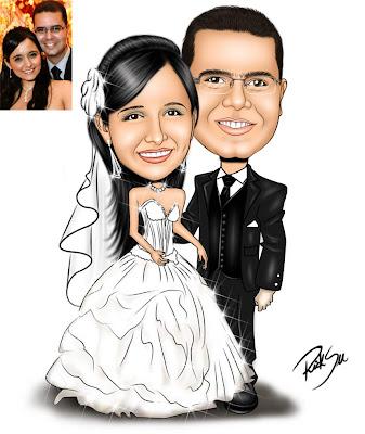 noivos, casamento, convites, banners