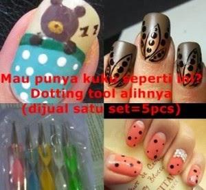 Dotting Tools Alat Nail art Asli untuk Menghias Dan Melukis kuku Murah Di Surabaya