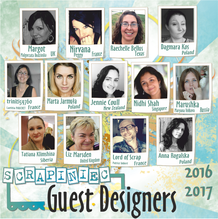 Scrapiniec Guest Design Team