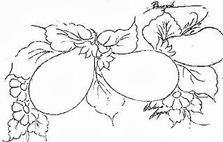 desenhos de legumes para pintar