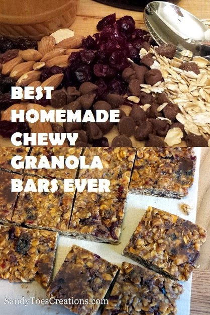 Best #Homemade #Chewy #GranolaBars Ever #delicious #recipe #kidsrecipes
