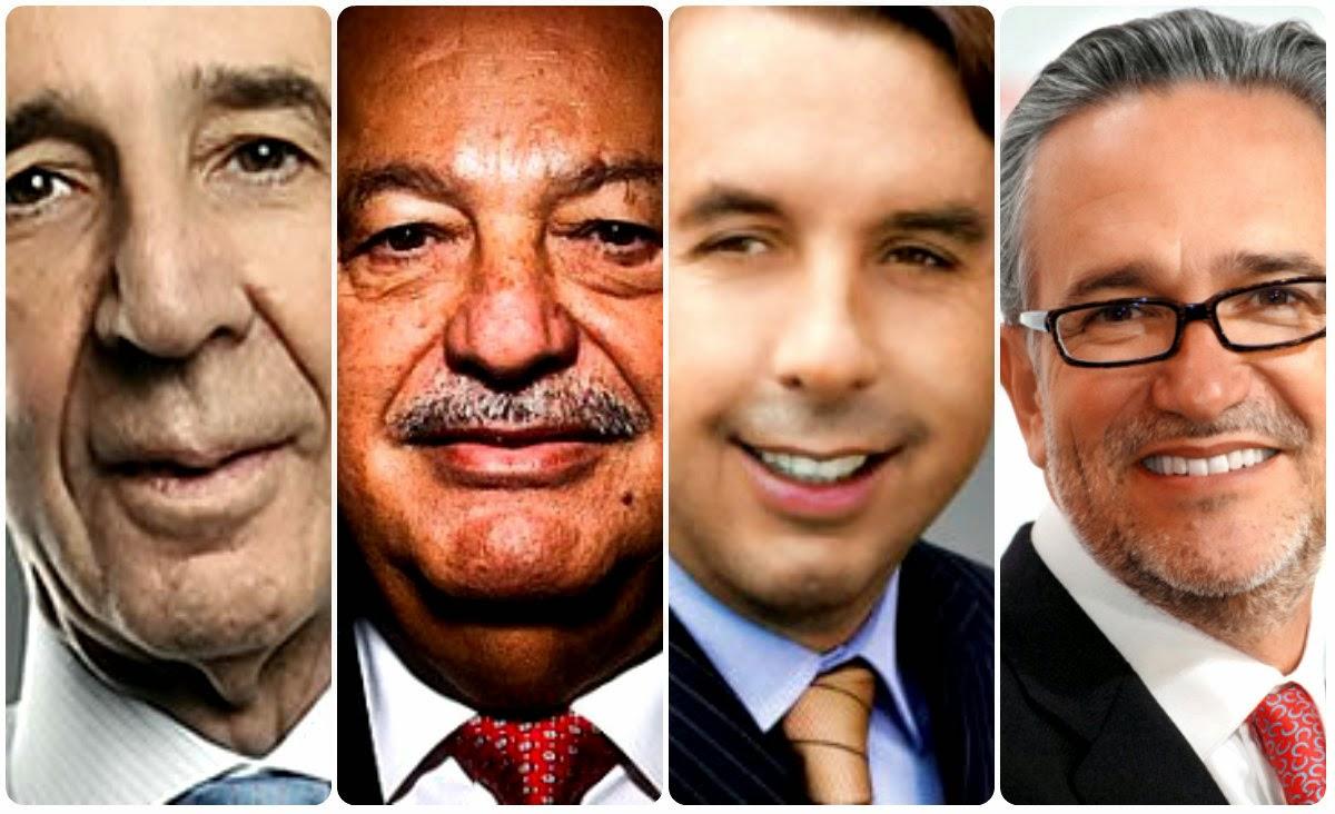 Resultado de imagen para millonarios mexicanos