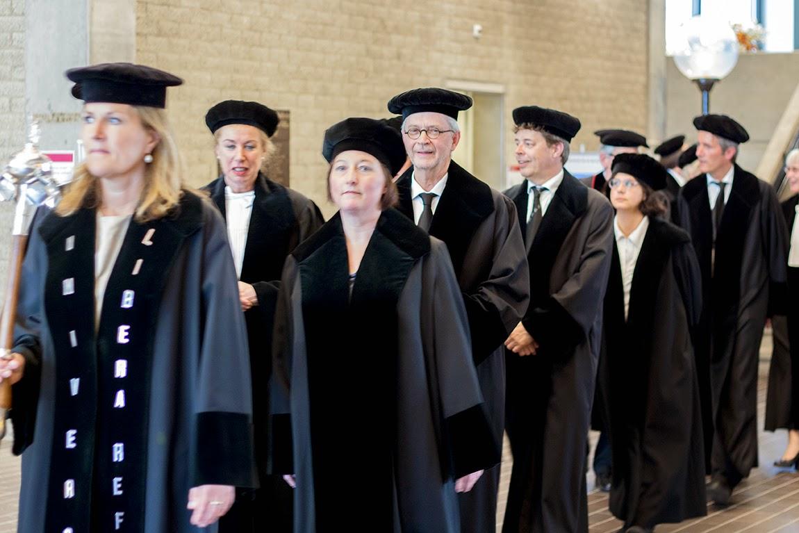 cortege of inaugural speech Dr. J.W. van Saane