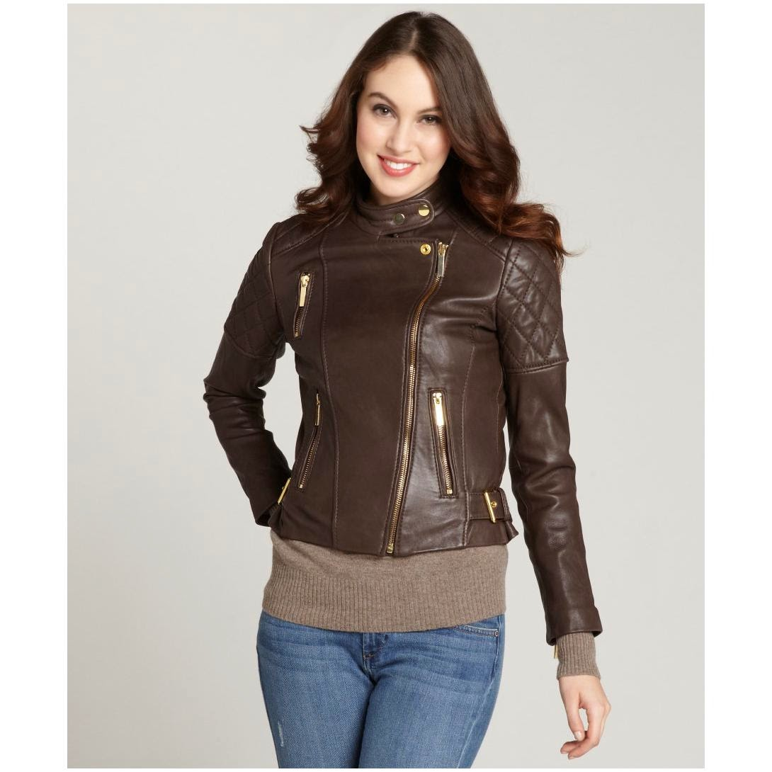 Pix For Brown Leather Jacket Women Outfit | Fashionu0026#39;s Feel | Tips and Body Care
