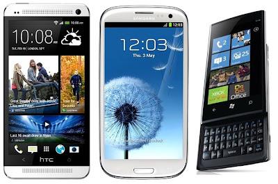 3 Top Class Windows Smartphones - Dell Venue Pro, HTC Surround and Samsung Focus