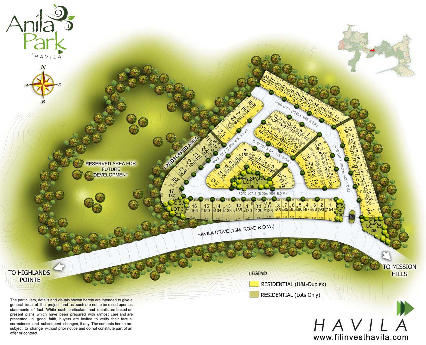 Anila Park Taytay, House and Lot for sale in Taytay, Filinvest Land, Havila
