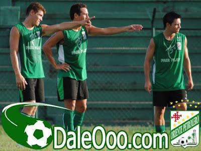 Oriente Petrolero - Miguel Angel Hoyos, Gualberto Mojica, Marcelo Aguirre - Club Oriente Petrolero
