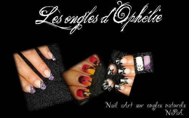 les ongles d'Ophélie