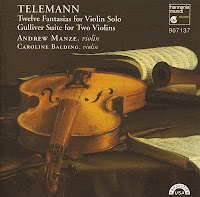 Telemann: 12 Fantasias for Solo Violin, Gulliver Suite
