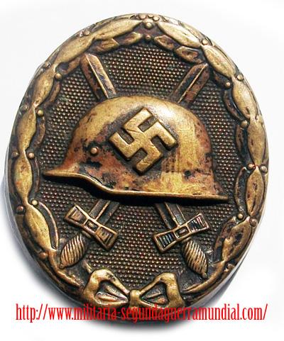 Insignia de Herido militaria segunda guerra mundial