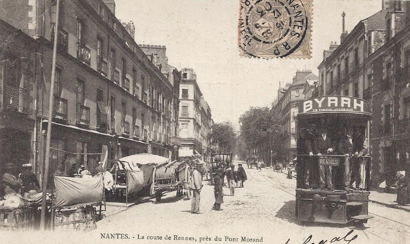 Nantes avant en 39 45 nantes route de rennes - La route du meuble rennes ...