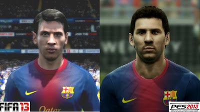 extremamante reais, rostos dos jogadores nos games em 2013