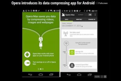 Opera Kenalkan Aplikasi Kompresi Data Untuk Android