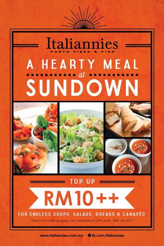 Italiannies Sundown Buffet
