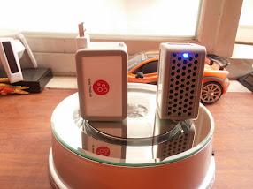 Máy lọc không khí ion âm plasma USB có pin