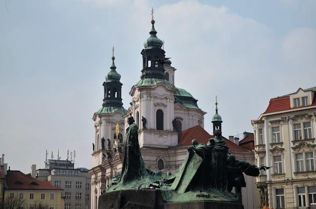 Prag - Jan Hus-Denkmal